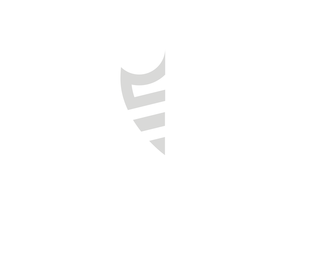 iSecurity Systems logo - white